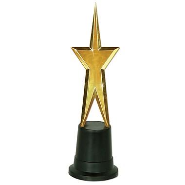 Statuette étoile soirée de remise de prix, 9 po, 2/paquet