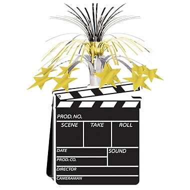Clapboard Movie Set Centerpiece, 15