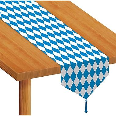 Chemin de table imprimé avec motif Oktoberfest, 11 po x 6 pi, paq./4