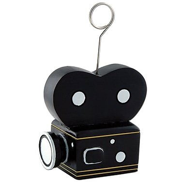 Movie Camera Photo/Balloon Holder, 3/Pack