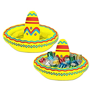 Inflatable Sombrero Cooler, 18
