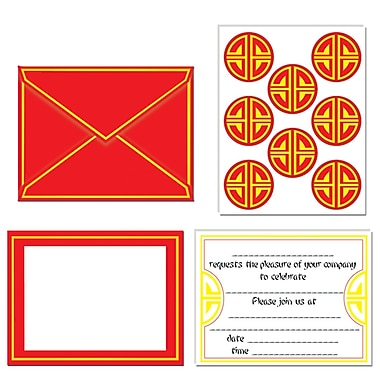 Chinese Invitations & Seals, 4