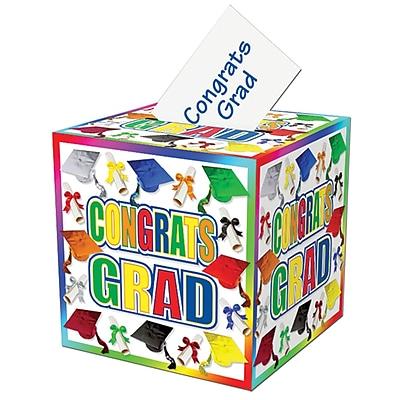 Beistle Graduation Gift Card Box, 12