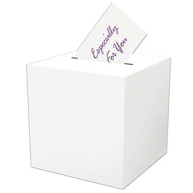 Beistle All-Purpose Receiving Gift Card Box, 12