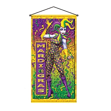 Mardi Gras Door/Wall Panel, 30