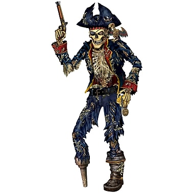 Jointed Pirate Skeleton, 6'