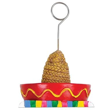 Porte-photo/ballon en forme de sombrero avec sarape, 6 oz chacun, paquet de 3