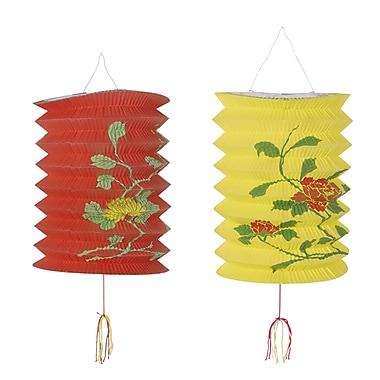 Lanternes chinoises, 6 x 9 po, 6/paquet