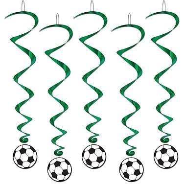 Tourbillons ballon de soccer, 3 pi 4 po, 15/paquet