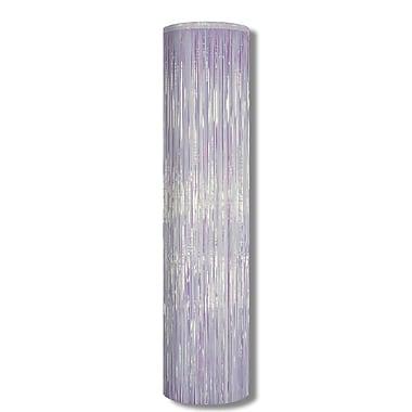 Colonne 1 épaisseur résistante aux flammes Gleam 'N Column, 8 pi x 12 po, opalescente