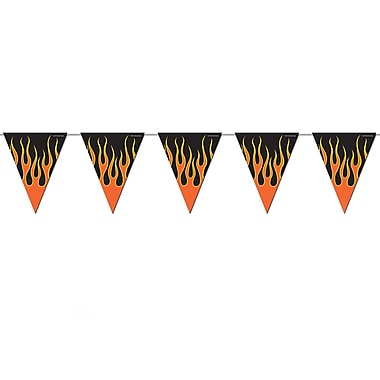 Flame Pennant Banner, 10