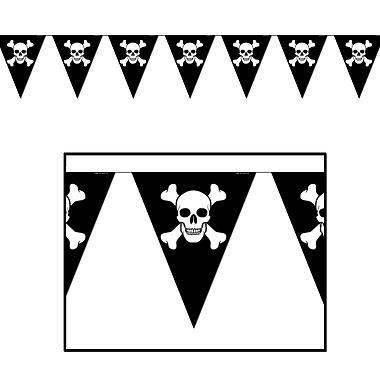 Jolly Roger Pennant Banner, 10