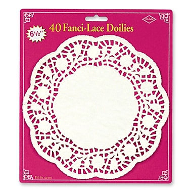 Fanci-Lace Bond Doilies, 6-1/2