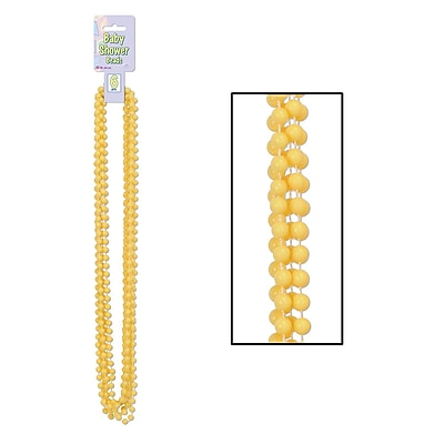 Beistle Baby Shower Beads Necklace, 33