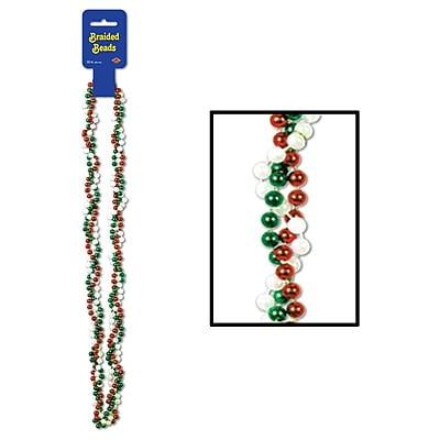 Beistle Braided Beads Necklace, 33