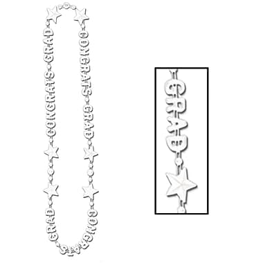 Beistle Congrats Grad Beads Of Expression Necklace, 36