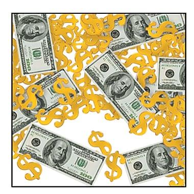 Confettis Print-Fetti Gros dollars, paq./4