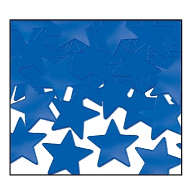 Fanci-Fetti Stars, Blue, 5/Pack