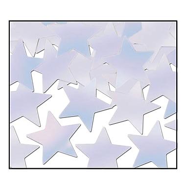 Fanci-Fetti Stars, Opalescent, 5/Pack