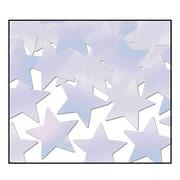 Beistle Stars Fanci Confetti, Opalescent, 5/Pack