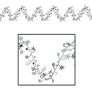 Guirlande d'étoiles Gleam 'N Flex, 25 pi, argentée, 4/paquet
