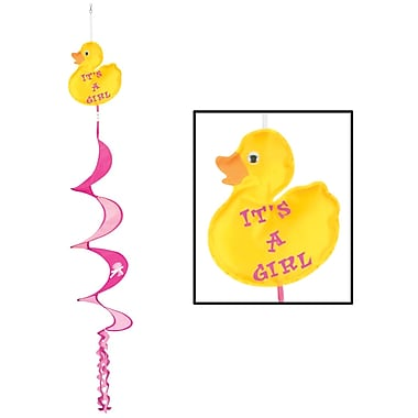 It's A Girl Just Duckie Wind-Spinner, 3', 6