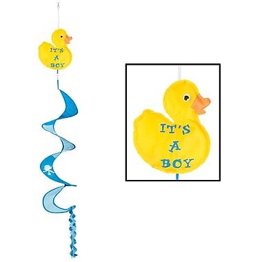 Just Duckie – Tourne au vent « It's A Boy », 3 pi x 6 po, 3/paquet