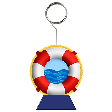 Life Preserver Photo/Balloon Holder, 6 Ounces, 3/Pack