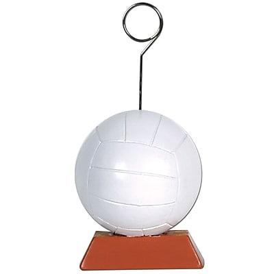 Beistle 6 oz. Volleyball Photo/Balloon Holder, 3/Pack