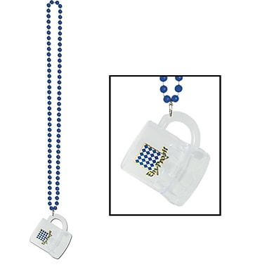 Beistle Beads Necklace With Oktoberfest Mug, 33