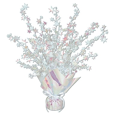 Centre de table étoilé Gleam 'N Burst, 15 po, opalescent, 3/paquet