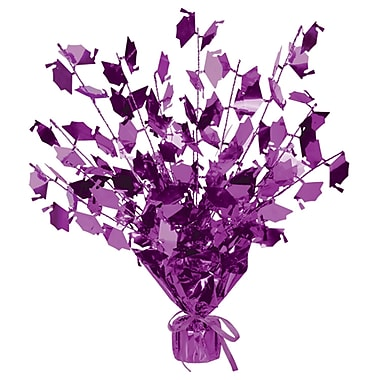 Centre de table en mortiers Gleam 'N Burst, 15 po, violet, paquet de 3
