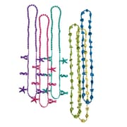 "Beistle Luau Beads Necklace, 32"", Assorted"