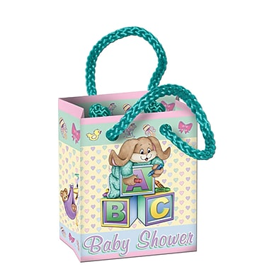 Beistle Cuddle-Time Mini Gift Bag Party Favors, 2 1/2