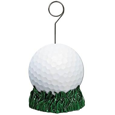 Porte-ballon/porte-photo en forme de balle de golf, 6 onces, paquet de 3