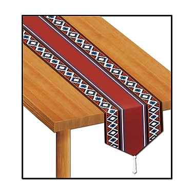Printed Western Style Table Runner, 11