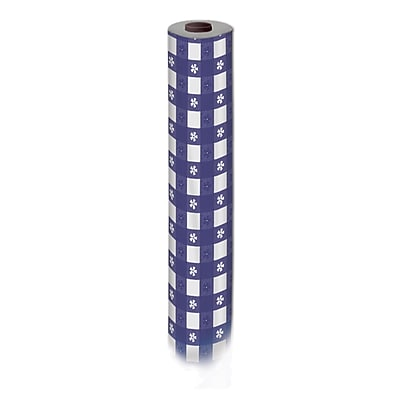 """""Beistle 40"""""""" x 100' Gingham Table Roll, Blue"""""" 1067905"