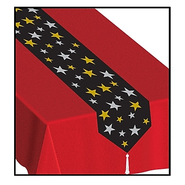 Printed Stars Table Runner, 11