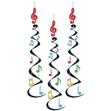 Musical Note Whirls, 30