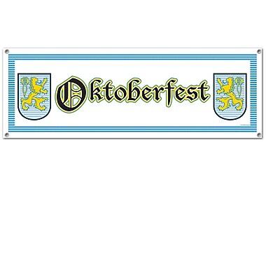 Oktoberfest Sign Banner, 5' x 21