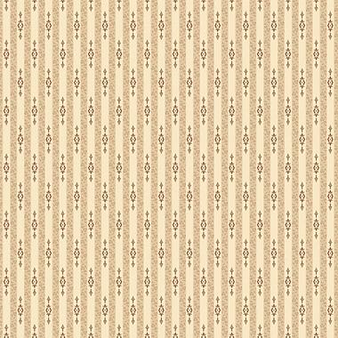 Papier peint arrière-plan de 4 pi x 30 pi, crème/marron