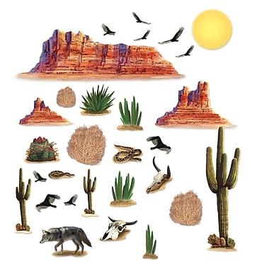 Accessoires désert de l'Ouest sauvage, entre 5 po et 4 pi 4 po, 29/paquet