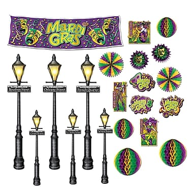 Mardi Gras Decorations & Street Light Props, 8