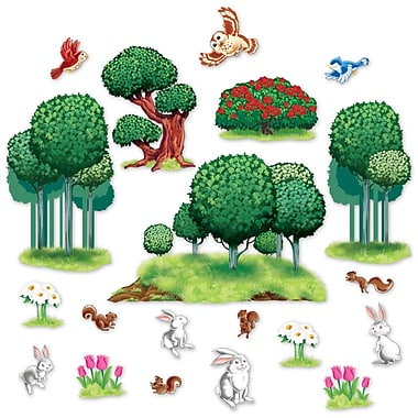 Accessoires de décoration animaux et nature, 6 à 49 po, paquet de 40