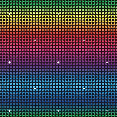 Beistle Disco Backdrop, 30' x 4'