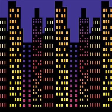 Cityscape Backdrop, 4' x 30'