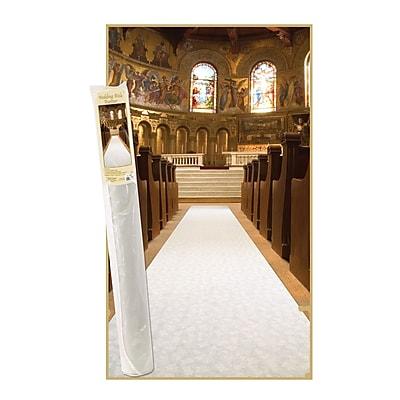 Beistle Elite Collection Wedding Aisle Runner, 36