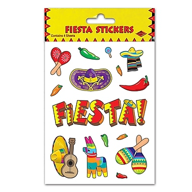 Fiesta Stickers, 4-3/4