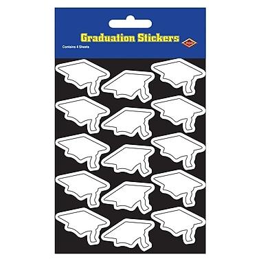 Autocollants de mortiers, 4 3/4 x 7 1/2 po, blanc, paquet de 28