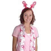 "Beistle 10"" x 4' 7"" Ribbon Scarf, Pink"